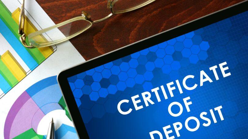 Certificate Deposits Cd
