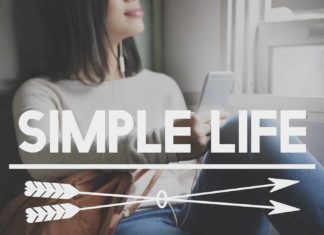 woman living a simple life voluntary simplicity