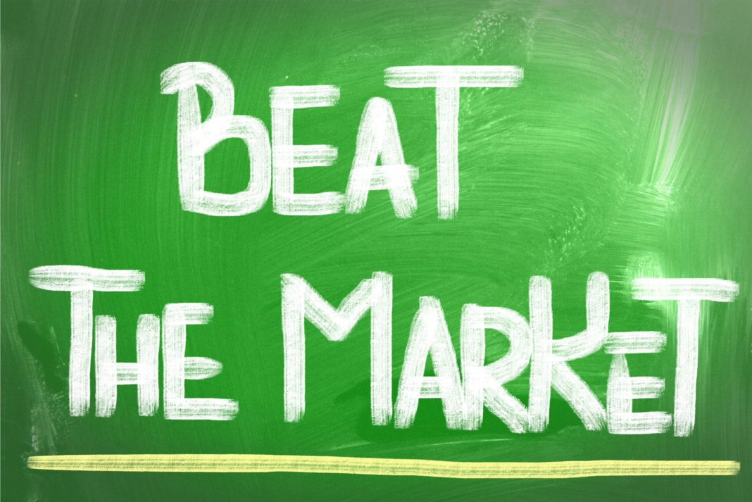Beat The Market Green Board Paint