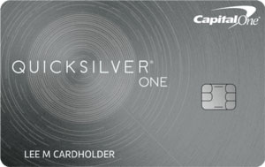 capital one quicksilver one credit card