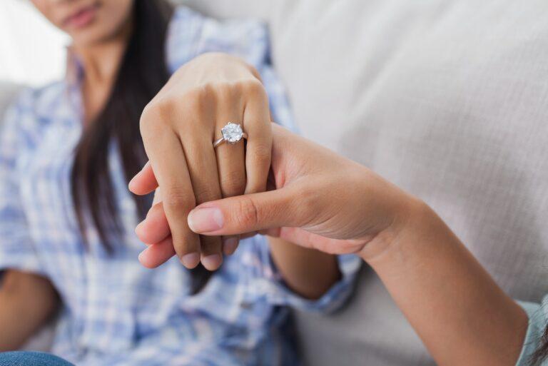 Less Buying Engagement Ring