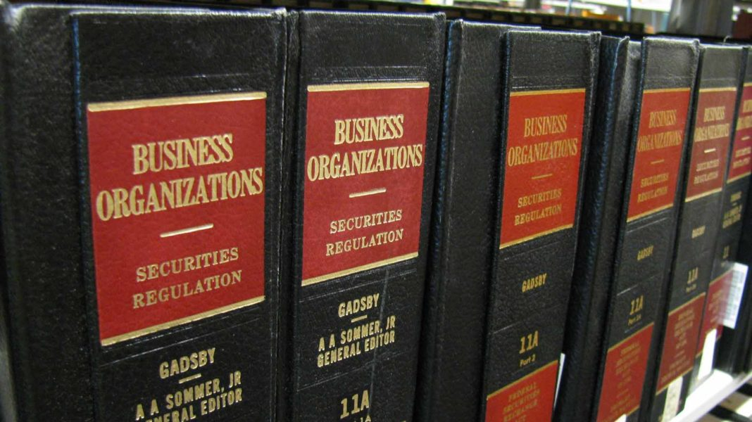 business organization law books
