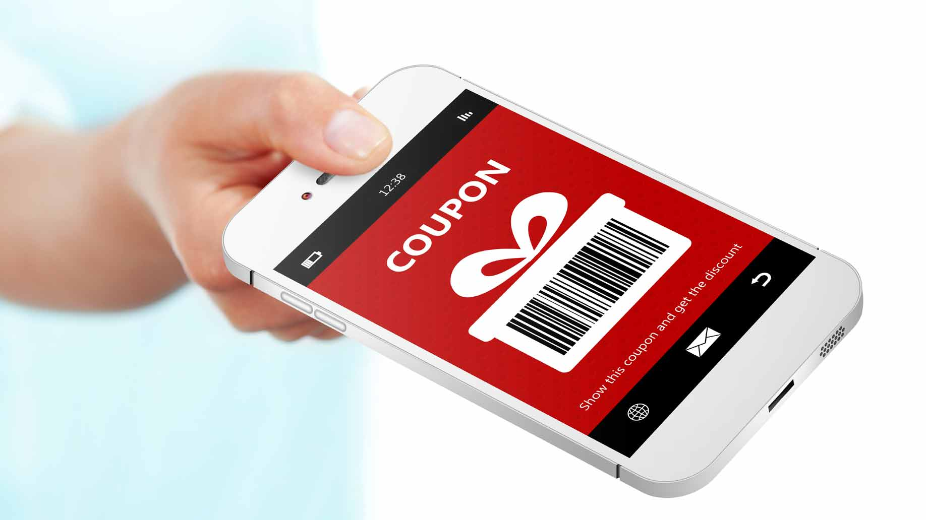 digital smartphone coupon