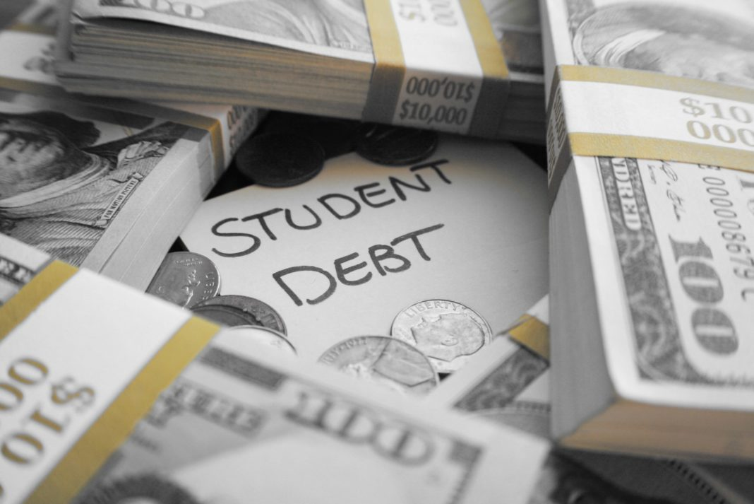 Student Debt Pile Mountain Of Cash Money
