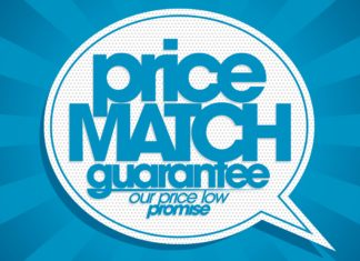 Price Match Gaurantee Sign
