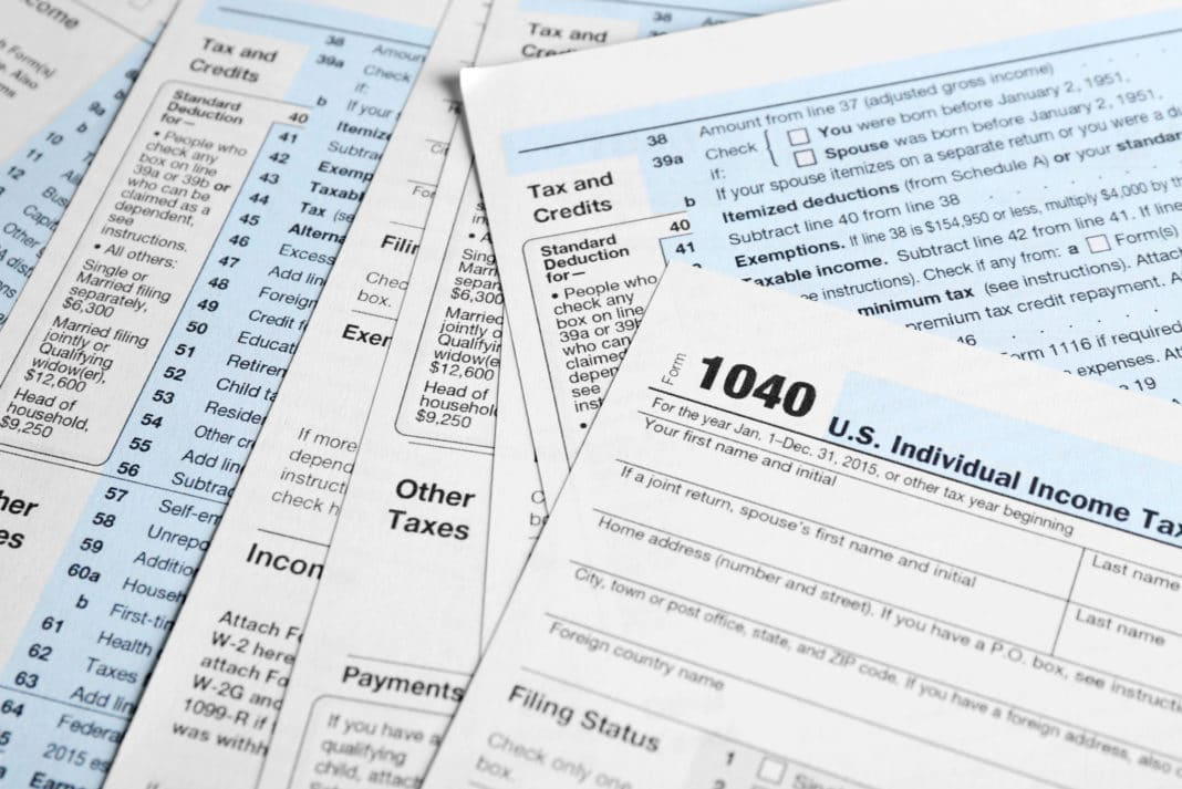 List of the Most Common Federal IRS Tax Forms