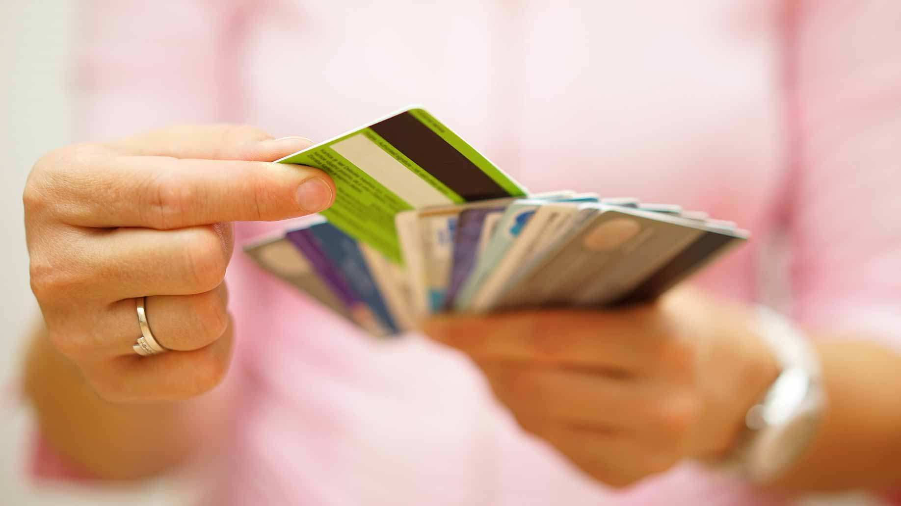 spending on credit cards