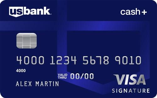U S  Bank Cash+ Visa Signature Credit Card Review