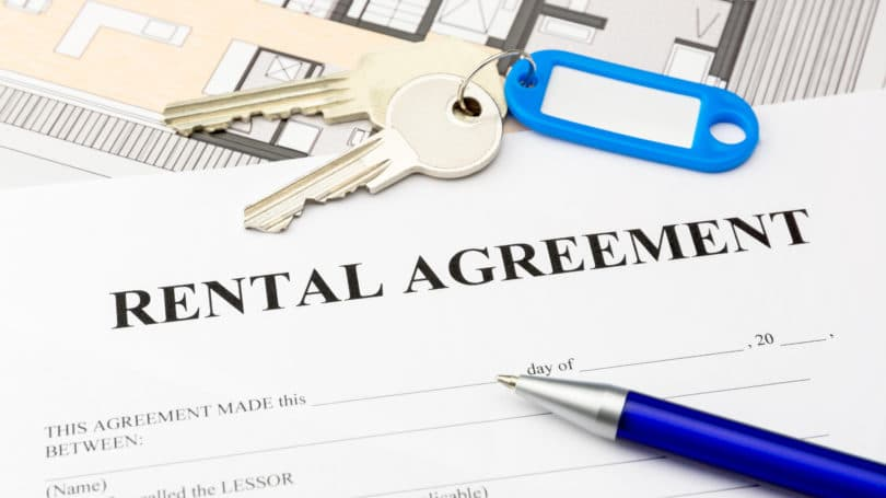Rental Agreement Contract Keys
