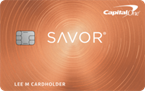 Capital One Savor Card Art