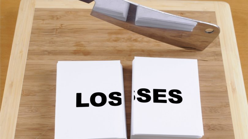 Cut Your Losses Knife Cutting Board