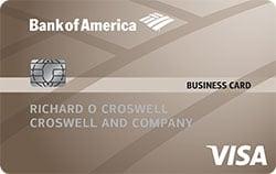 bank of america platinum visa business credit-card