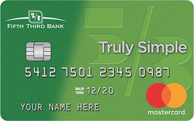 fifth third truly simple credit card