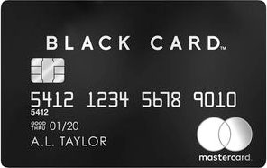 Luxury Mastercard Black Card