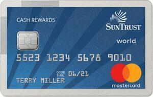 suntrust cash rewards credit card