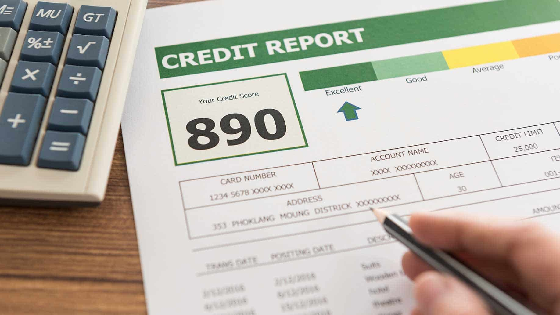 checking credit history report