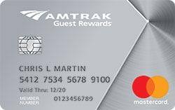 amtrak rewards platinum mastercard