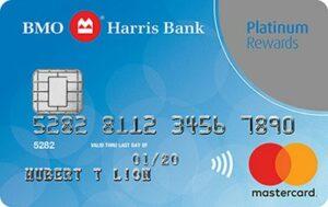 bmo harris bank platinum rewards mastercard