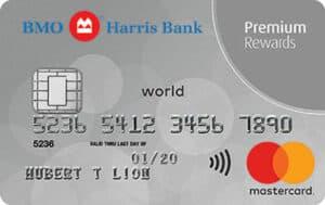 bmo harris bank premium rewards mastercard