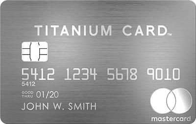 mastercard titanium card