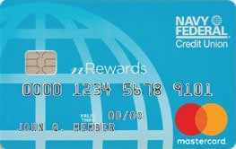 navy federal credit union nreward secured credit card