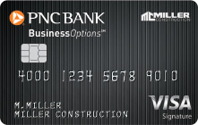 pnc businessoptions credit card