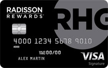 radisson rewards visa signature card