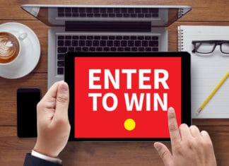 Enter To Win Tablet Pc Screen Table Coffee