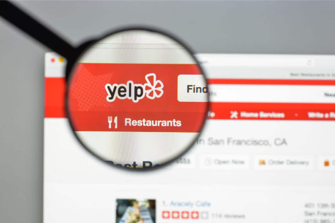Magnifying Glass Yelp Listing