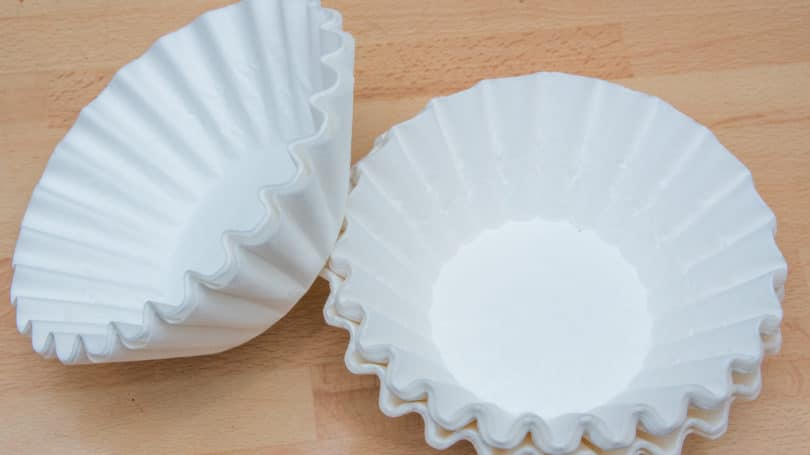 Coffee Filters White Table