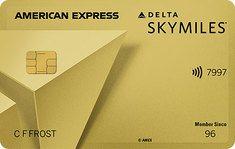 Delta Skymiles Gold American Express Card