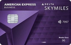 Delta Skymiles Reserve Business American Express
