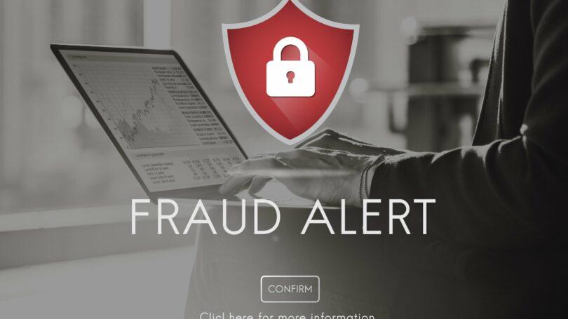 Fraud Alert Set Up Red Logo