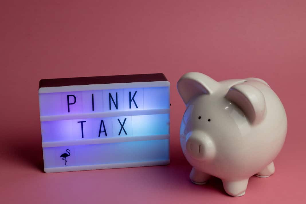 Pink Tax Piggy Bank