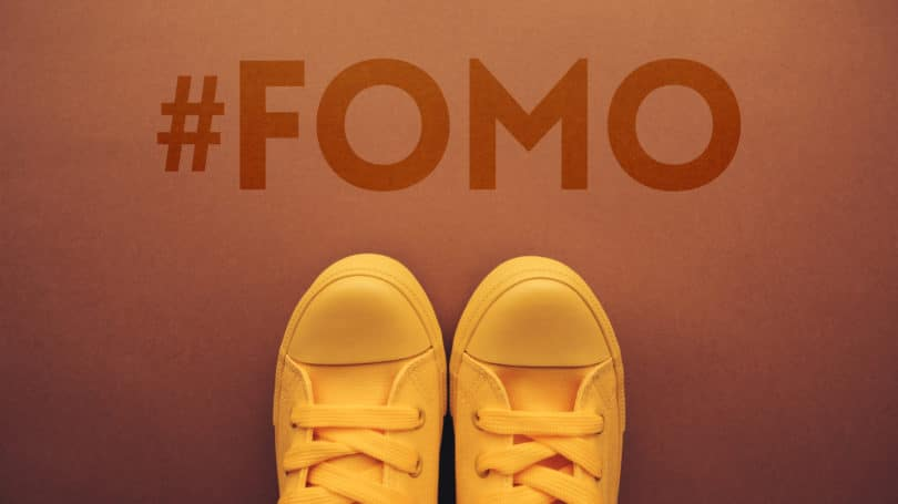 Fear Of Missing Out Hashtag Sneakers