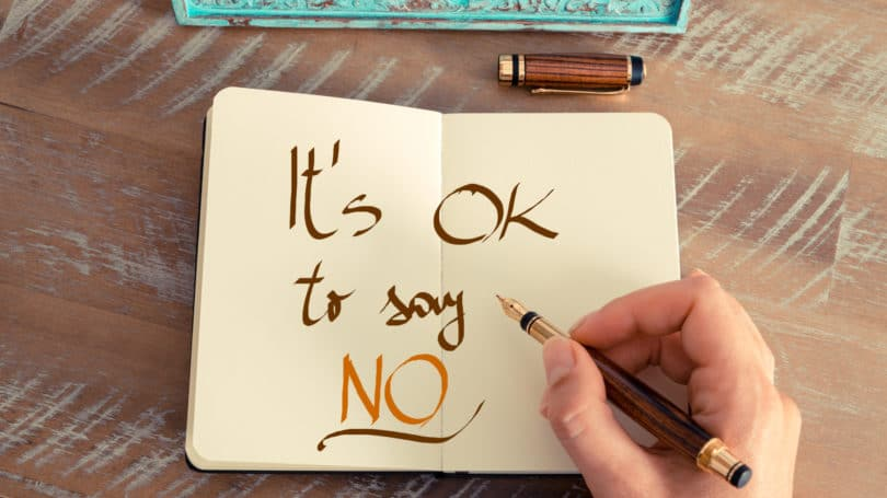 Ok To Say No Notebook