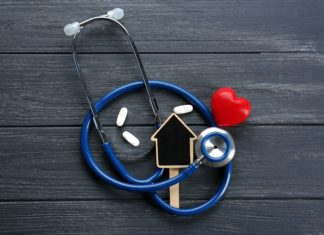Stethoscope Home Heart Table