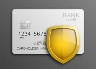 Credit Card Safety Shield Protection Badge
