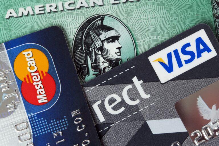 Credit Cards American Express Visa Master