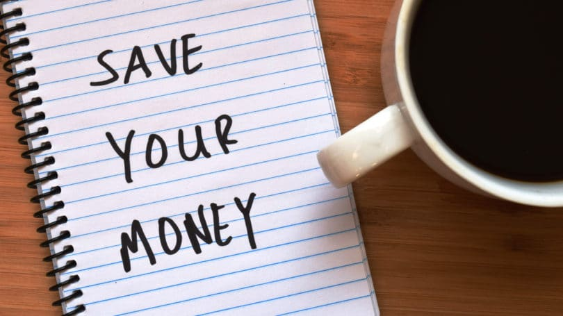Save Your Money Notepad Mug
