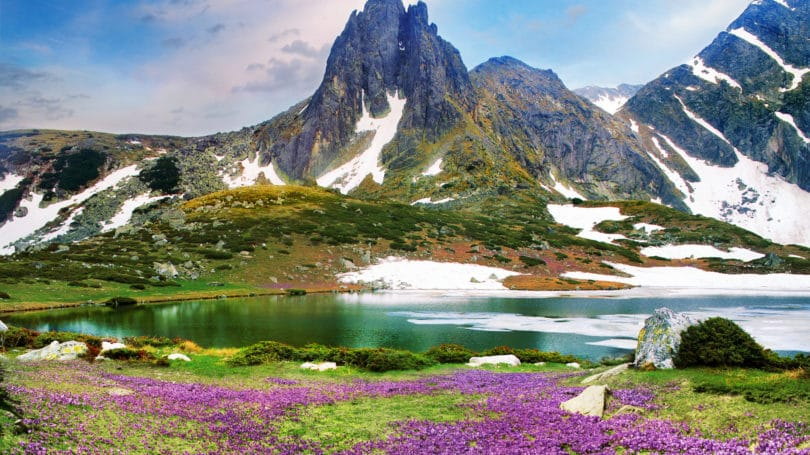 Bliznaka Twin Lake Bulgaria Rila Mountain