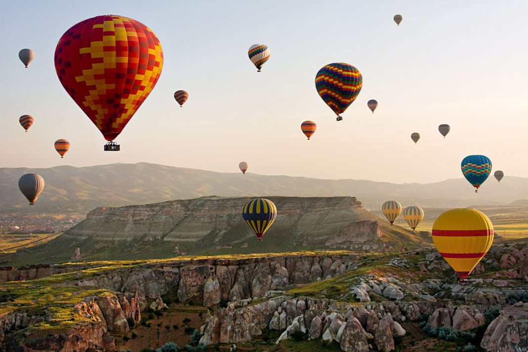 Cappadocia Turkey Hot Air Balloon