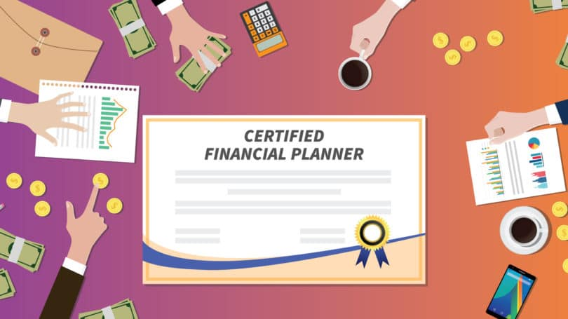 Certified Financial Planner Cfp Certificate Role Cash