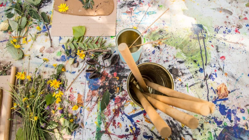 Garden Florals Diy Craft Paint