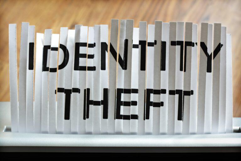 Identity Theft Paper Shredder