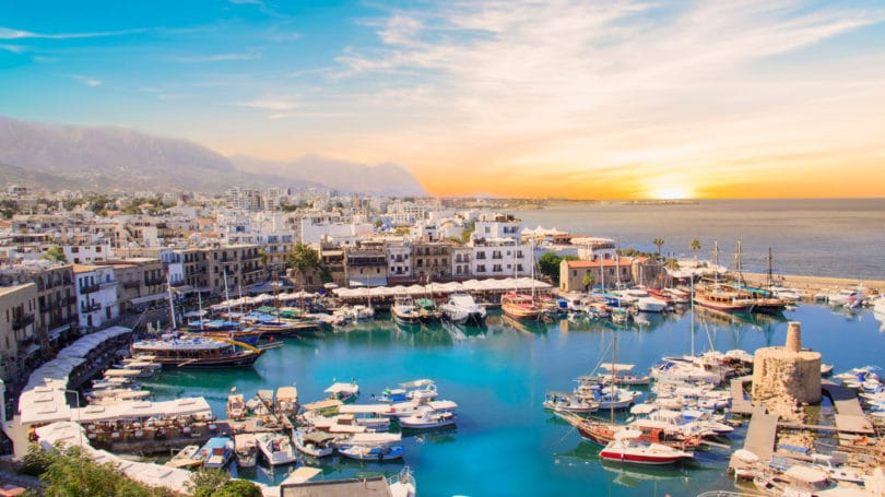 Kyrenia Bay Cyprus North