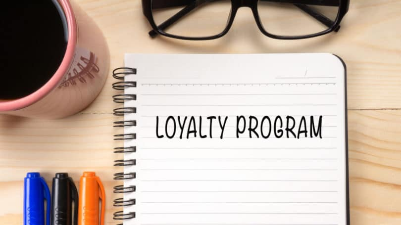 Loyalty Program Notebook Glasses Markers Cup