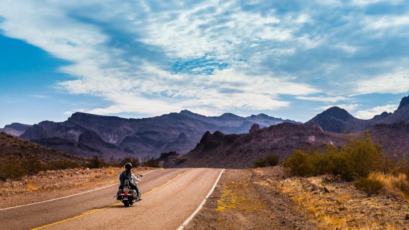 Motorcycle Tour Route 66 Arizona Mountains Road
