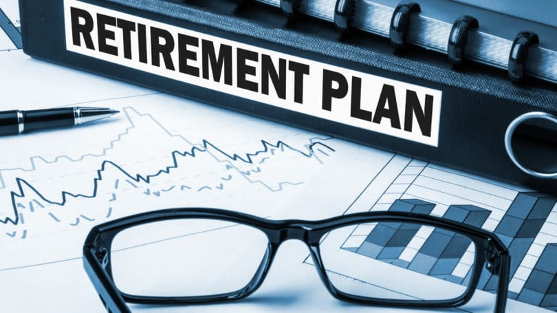 Retirement Plan Glasses Graph Binder