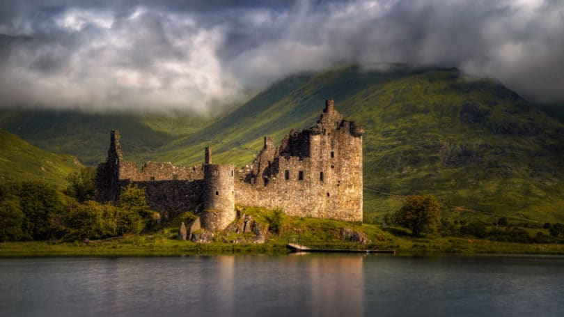 Scottish Highlands Castle Kilchum
